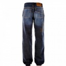 D&G DOLCE & GABBANA Dark Stonewash Regular Fit Denim Jeans
