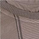 D&G DOLCE & GABBANA Mens Washed Khaki Slim Fit T Shirt