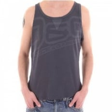 Regular fit Washed Grey Vest