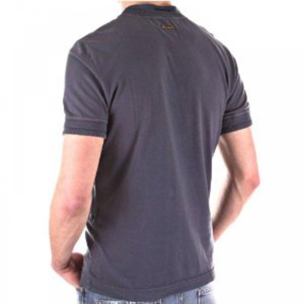 9b1cd298 ... D&G DOLCE & GABBANA Washed grey slim fit short sleeve tshirt ...