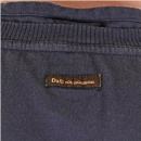 D&G DOLCE & GABBANA Washed grey slim fit short sleeve tshirt