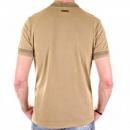 D&G DOLCE & GABBANA Washed Khaki Crew Neck Short Sleeve Slim Fit T-Shirt