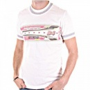 D&G DOLCE & GABBANA White Crew Neck Short Sleeve Slim Fit T-Shirt