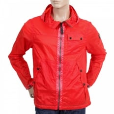 Mens Lightweight Nylon Jackets in Red