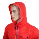 DESCENTE Mens Lightweight Nylon Jackets in Red