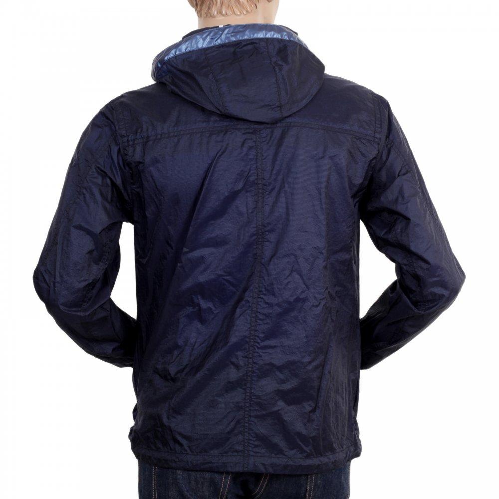 d8be544d7c9 DESCENTE Mens Navy Nylon Lightweight Regular Fit Jacket