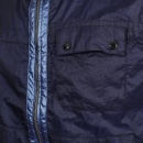 DESCENTE Mens Navy Nylon Lightweight Regular Fit Jacket