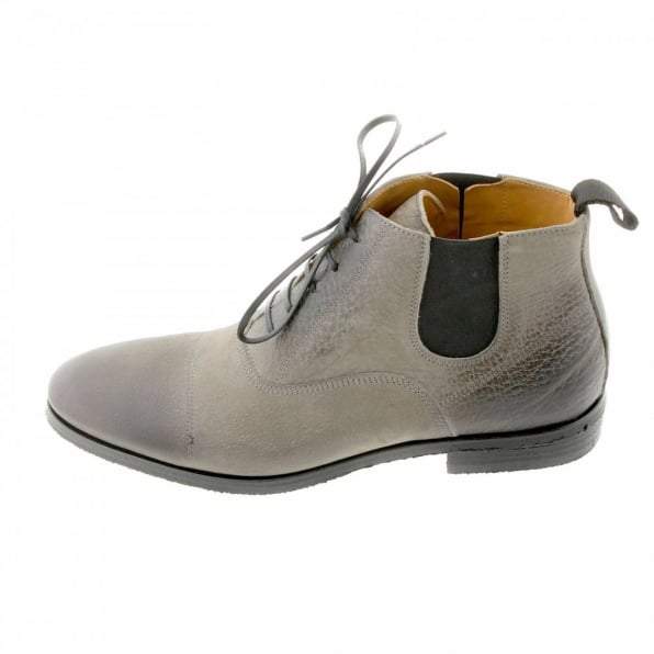 DiSANTO Grey Deer skin lace up Boots