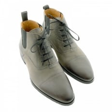 Grey Deer skin lace up Boots