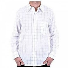 Mens Long Sleeve Check Shirt
