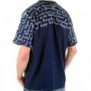 ETIENNE OZEKI navy t-shirt regular fit