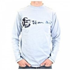 Sawyer sky blue long sleeve t-shirt