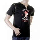 EVISU Authentic Denim dinner T shirt
