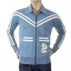 Early and Authentic Azure Blue Retro Track Jacket