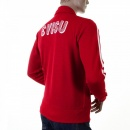 EVISU Early and Authentic Red Retro Track Jacket