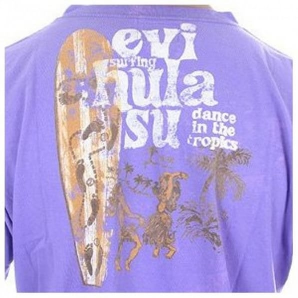 EVISU European Edition grape short sleeve t-shirt