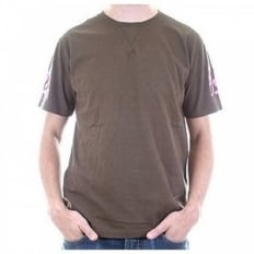 Evisumo Regular Fit Chocolate T Shirt