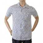 Genuine and Rare Mens Short Sleeve Floral Print Shirt