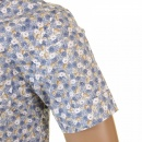 EVISU Genuine and Rare Mens Short Sleeve Floral Print Shirt