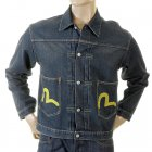 Genuine Two-Pocket Washed Denim Jacket