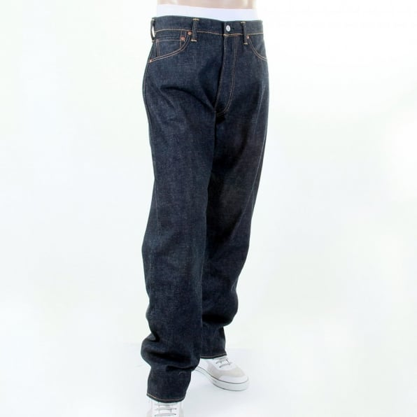 EVISU Limited Edition Vintage Cut Selvedge Raw Denim
