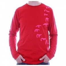 Long Sleeve EVISULUTION OSAKA Red T shirt