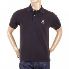 Mens Short Sleeve Black Polo Shirt