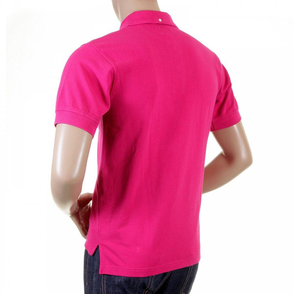 Make Yourself Notice With Dark Pink Evisu Polo Shirts Niro Fashion