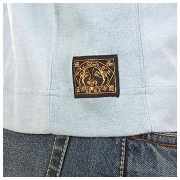 EVISU Mighty Pale Blue T Shirt