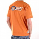 EVISU Orange Grand T shirt