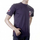 EVISU Original Ink Blue Short Sleeve T-Shirt