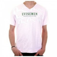 Pale Pink Regular Fit V Neck T-Shirt