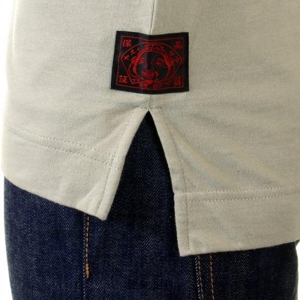 EVISU Putty royalty logo t shirt