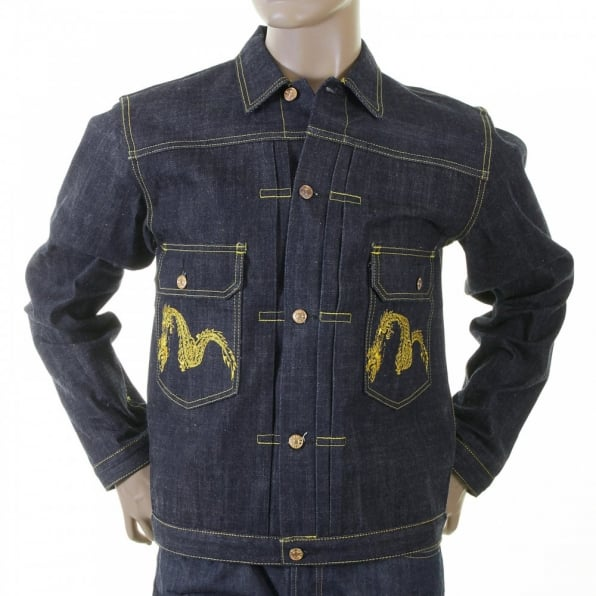 EVISU Rare and Genuine Heritage Denim Jacket
