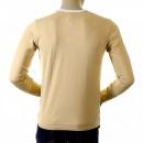 EVISU Rare and Original Camel Coloured Long Sleeve T Shirt