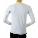 EVISU Rare and Original Sky Blue  Long Sleeve T Shirt