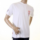 EVISU Rare and Original White Motor Sponsor T-Shirt