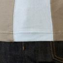 EVISU Rare panelled maniac t shirt in Grey