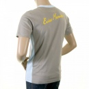 EVISU Rare panelled maniac t shirt in Grey