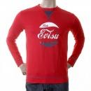 EVISU Red early original genuine T shirt
