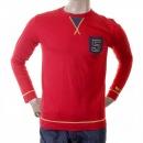EVISU Red rare original long sleeve T shirt