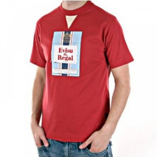 EVISU Red Regal T Shirt