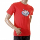 EVISU Scarlett Red Original Airline Printed T shirt