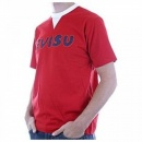 EVISU Short Sleeve Flame Red T Shirt