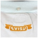 EVISU Sky Blue Short Sleeve Polo Shirt
