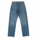 EVISU Vintage Cut Stone wash Denim Jeans