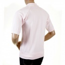 EVISU Washed Pale Pink Polo Shirt