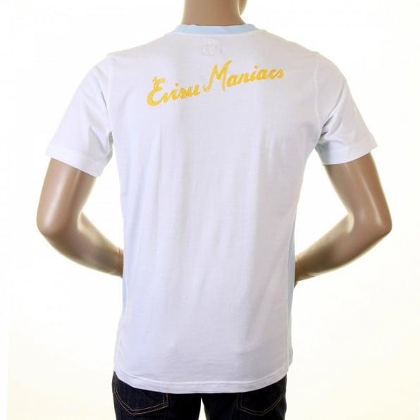 EVISU White EVISU MANIACS T Shirt