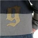 FAKE LONDON Black Lead Crew Neck Long Sleeve Sweatshirt