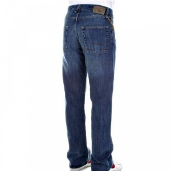 Stonewash Regular Fit Jeans